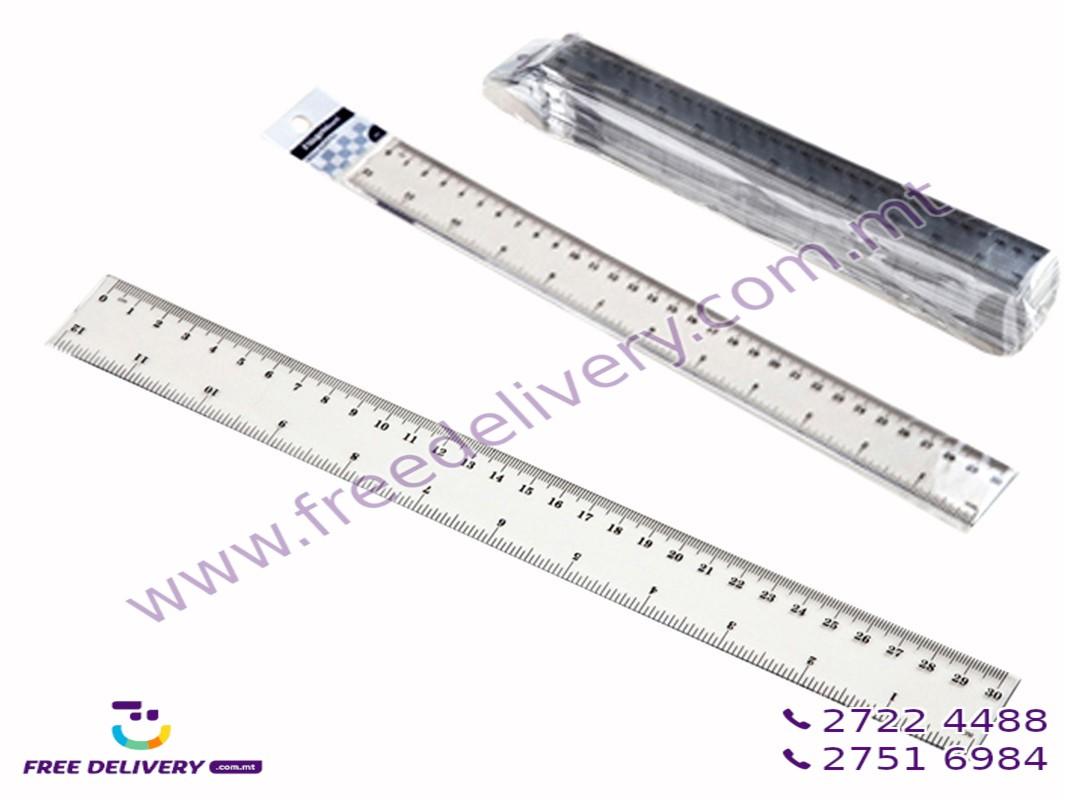 30CM PLASTIC  RULER GE231386