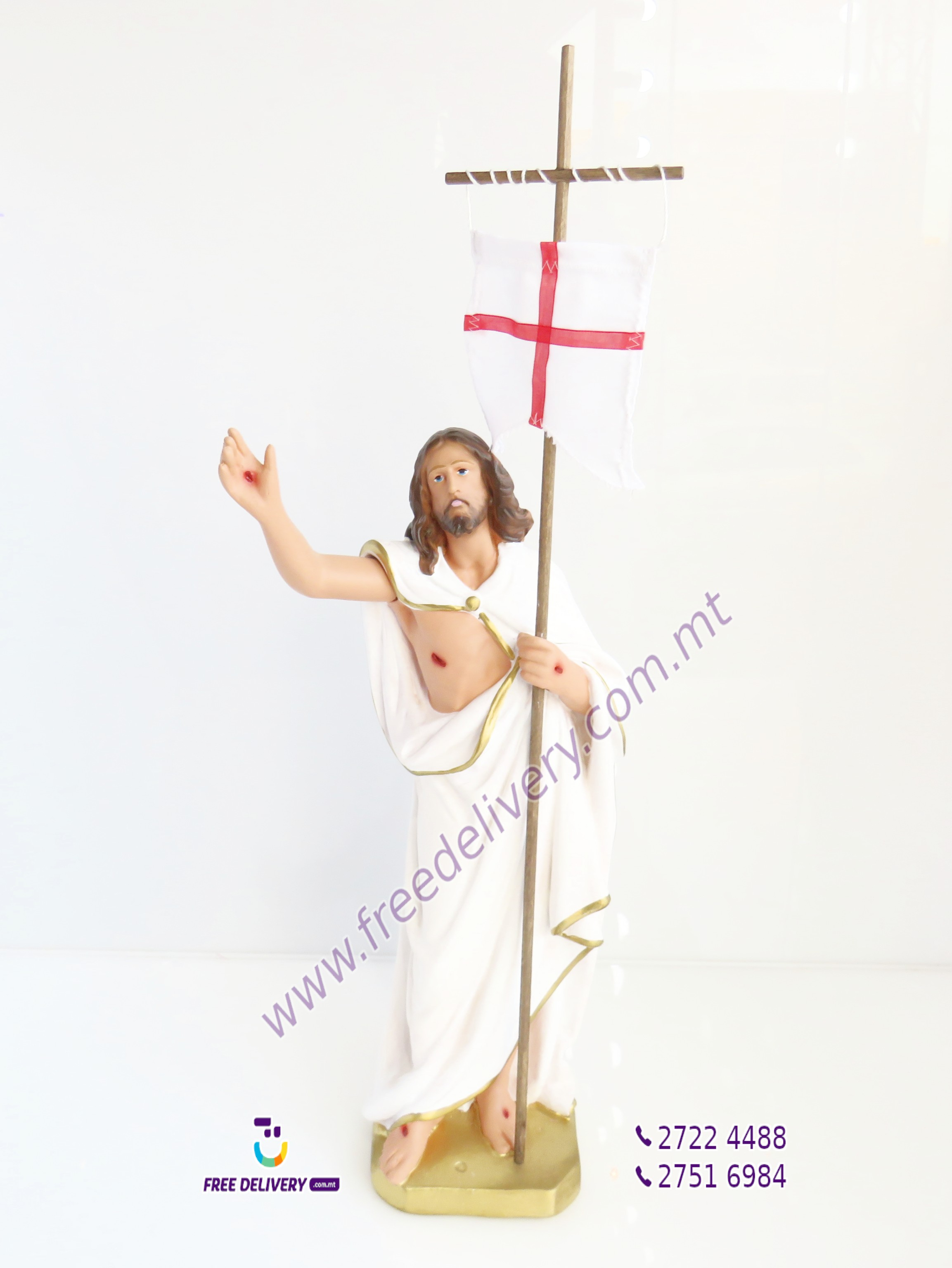 """RXOXT"" CHRIST THE RISEN LORD. 40CMS. AB33"