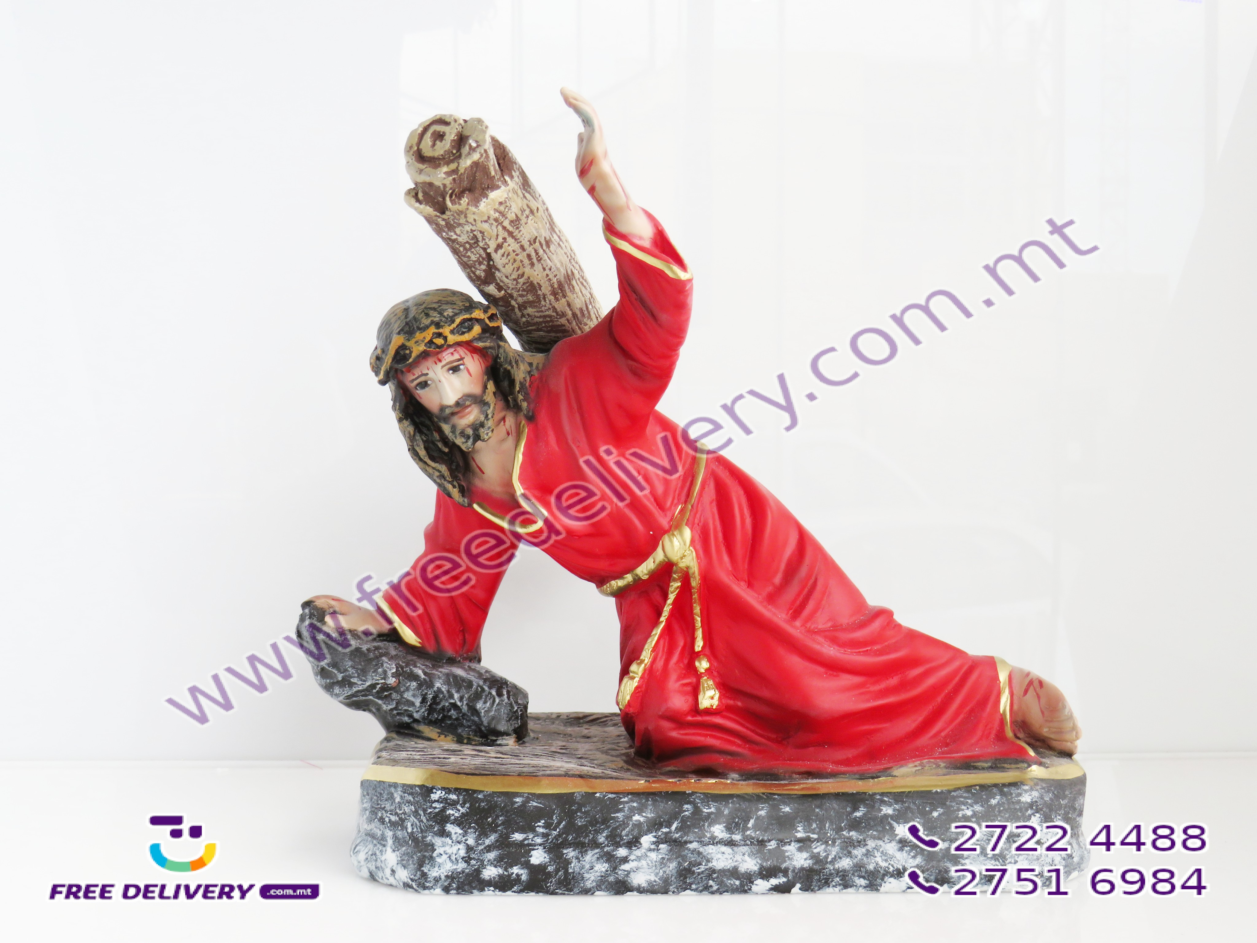 """REDENTUR"". CHRIST THE REDEEMER. SIZE 30CMS. NORMAL FINISH. MODERN STYLE"