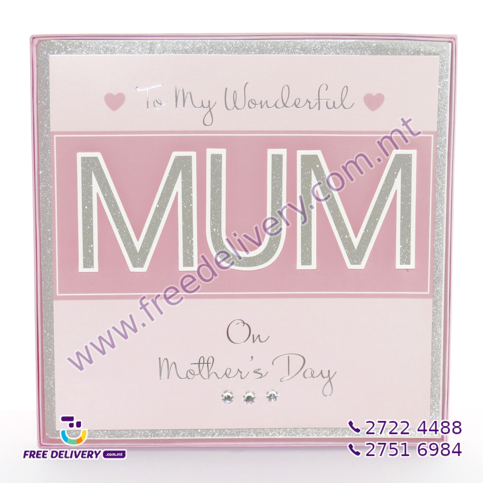 MOTHER'S DAY CARD 30 X 30 CM – MISC715962