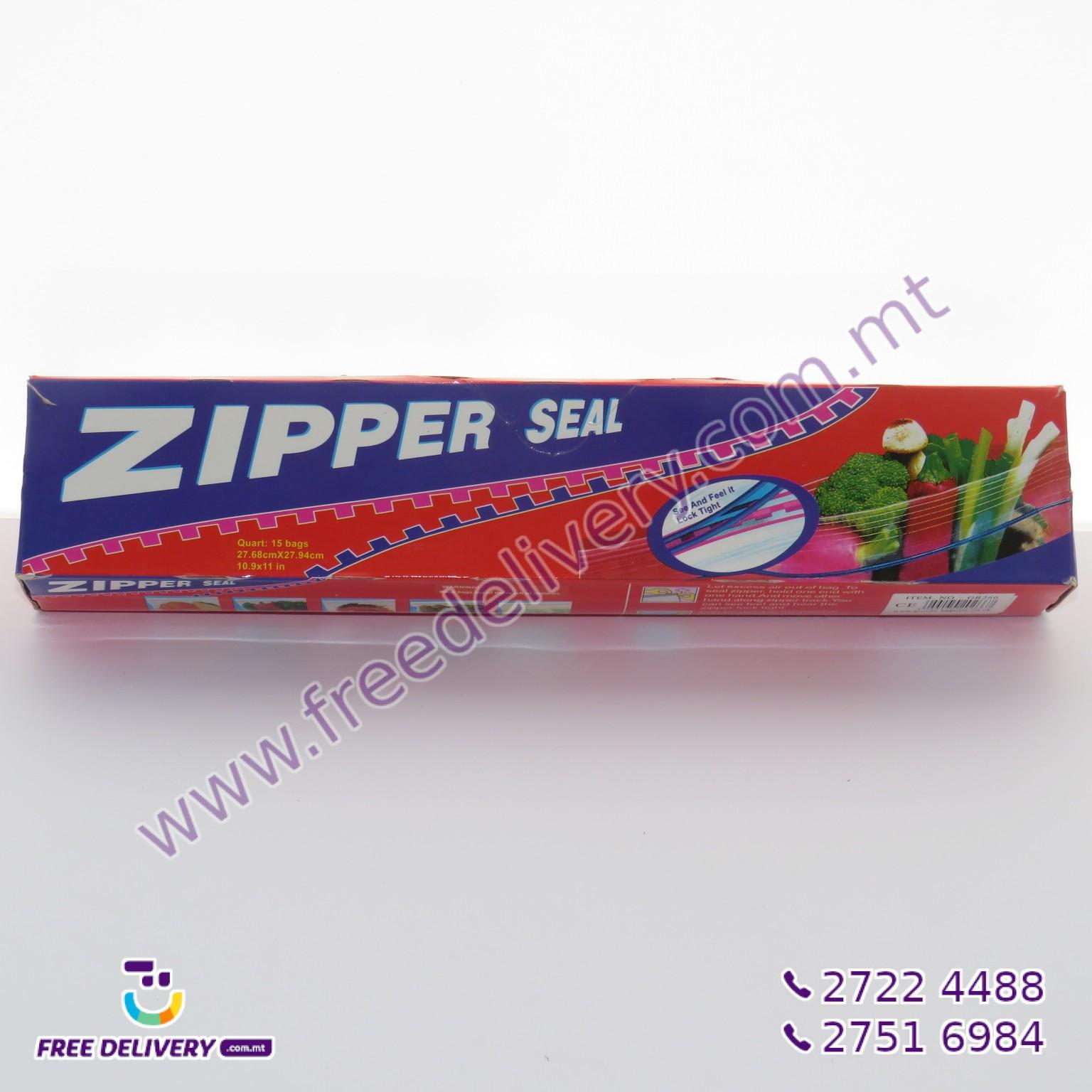 15 ZIPPER SEAL BAGS 27.7 X 28CM – MISC202667