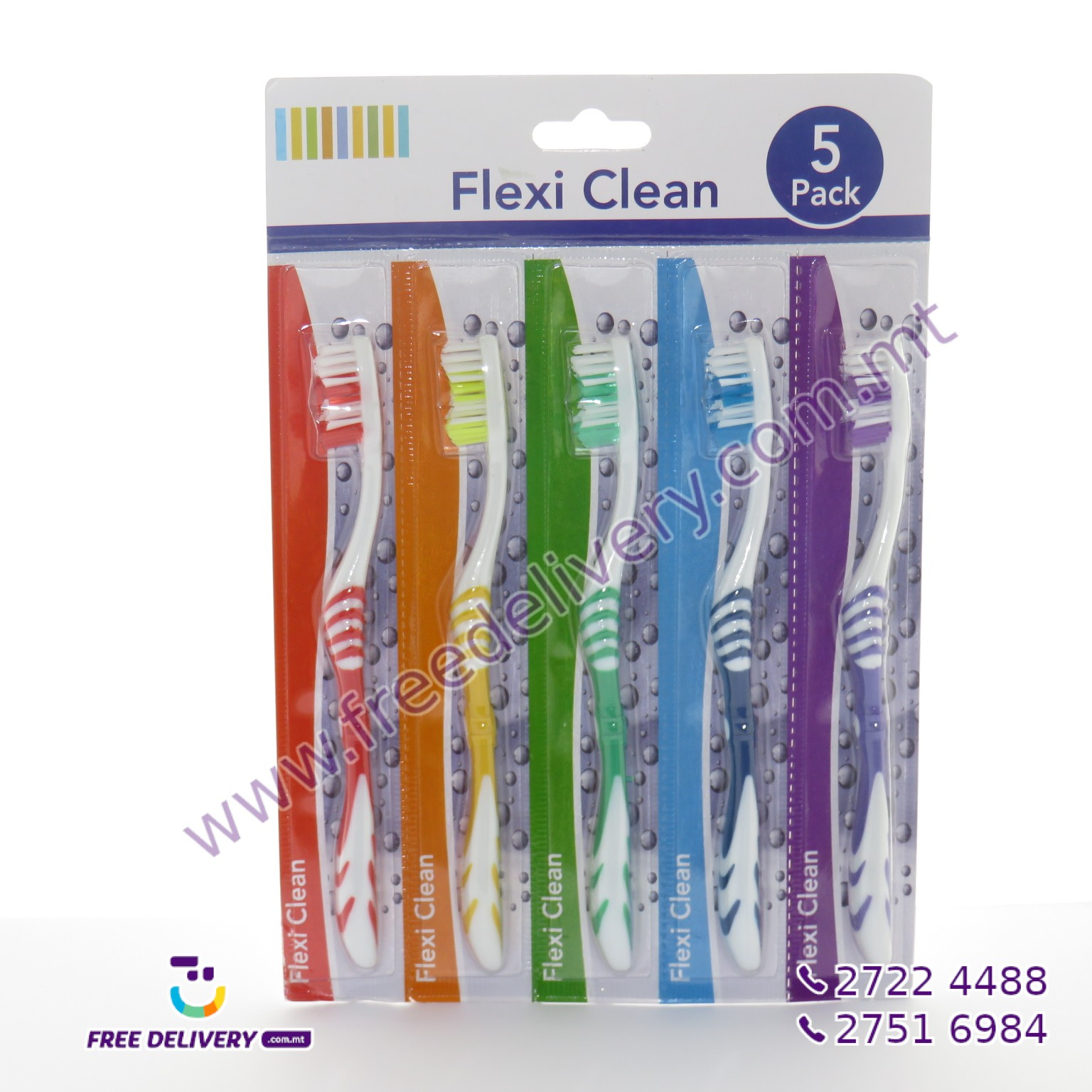TOOTH BRUSH PACK OF 5 19CM – MISC87561