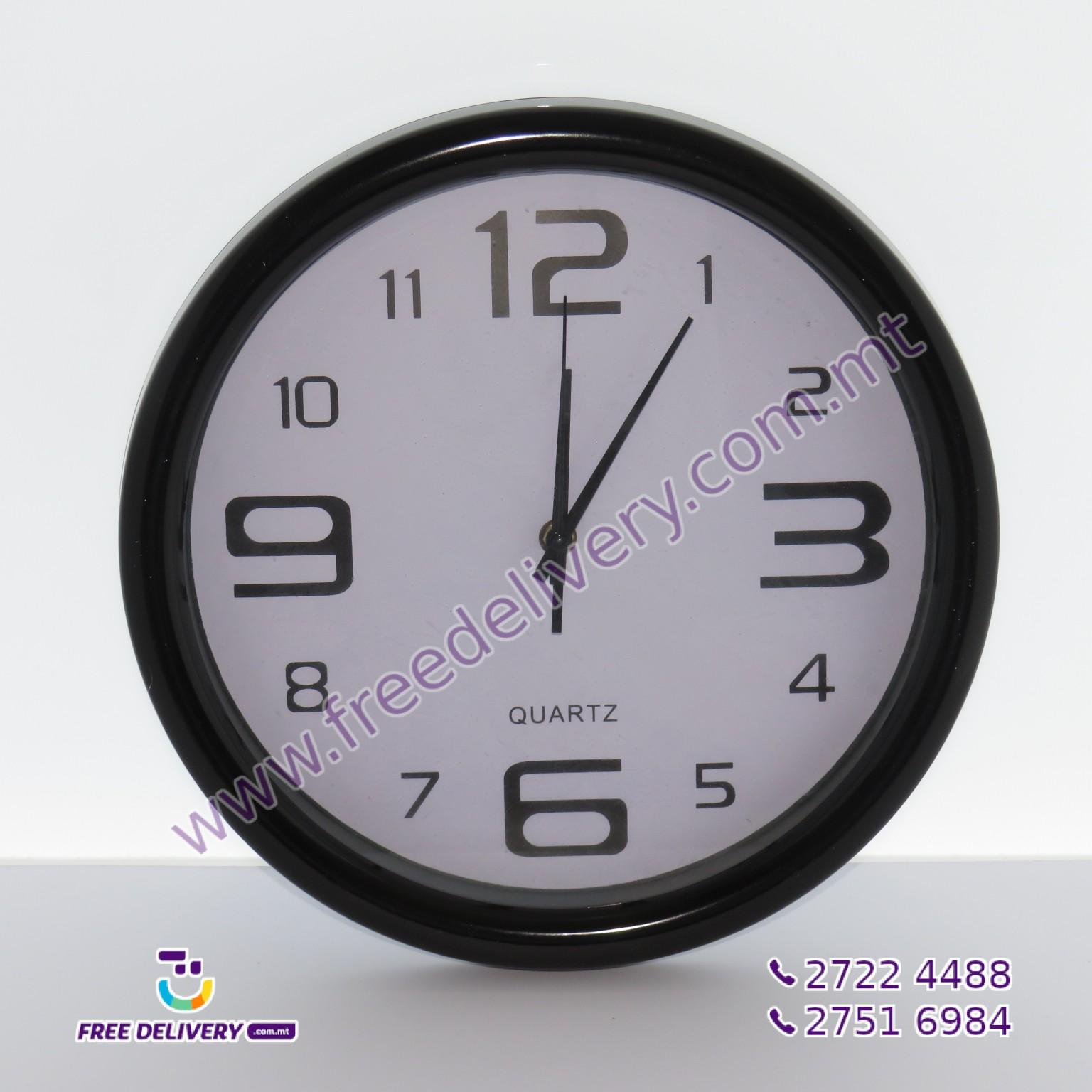 WALL CLOCK 32CM – JLS863412