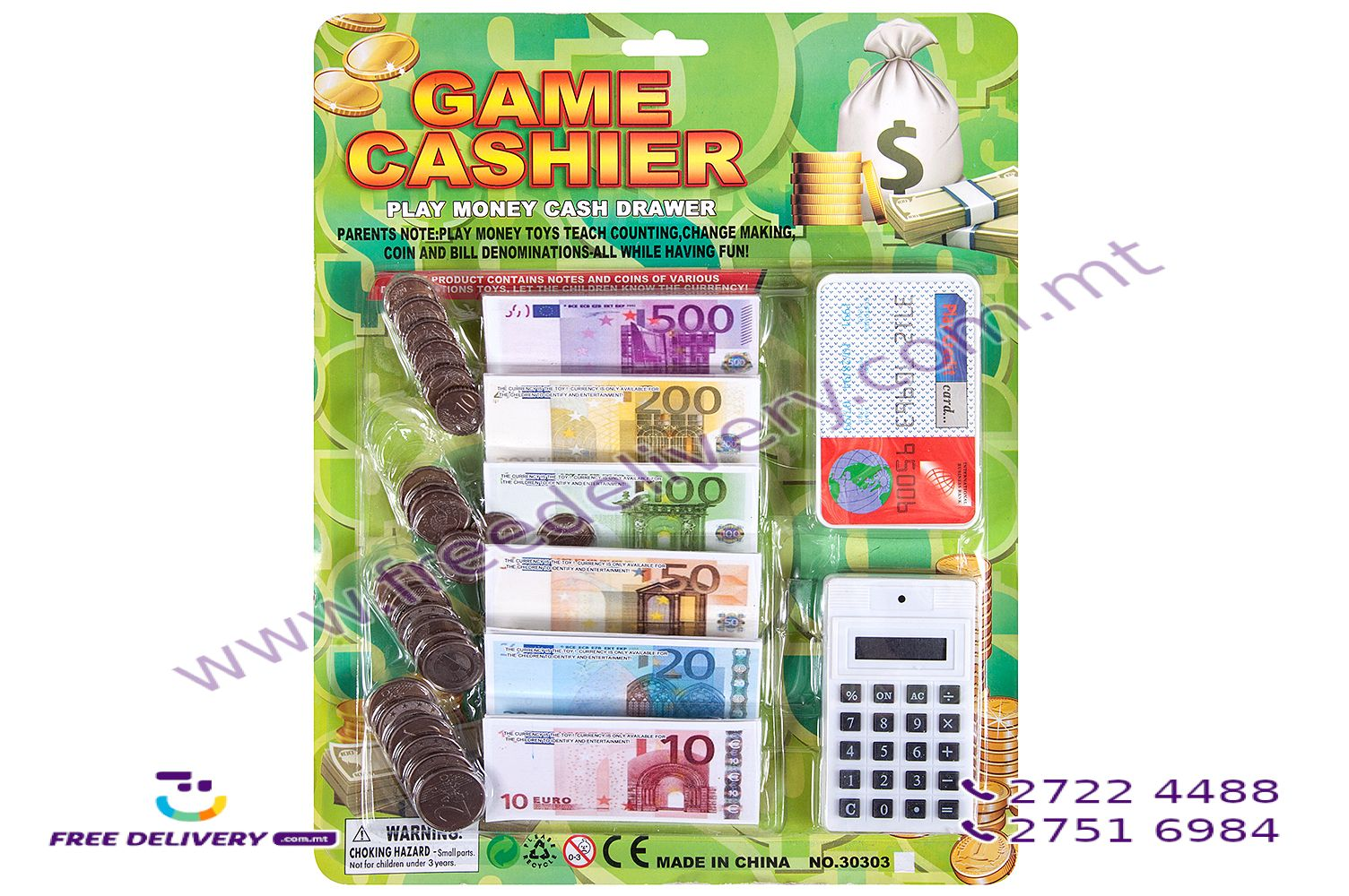 GAME CASHIER MONEY PLAY CALCULATOR – TO303037