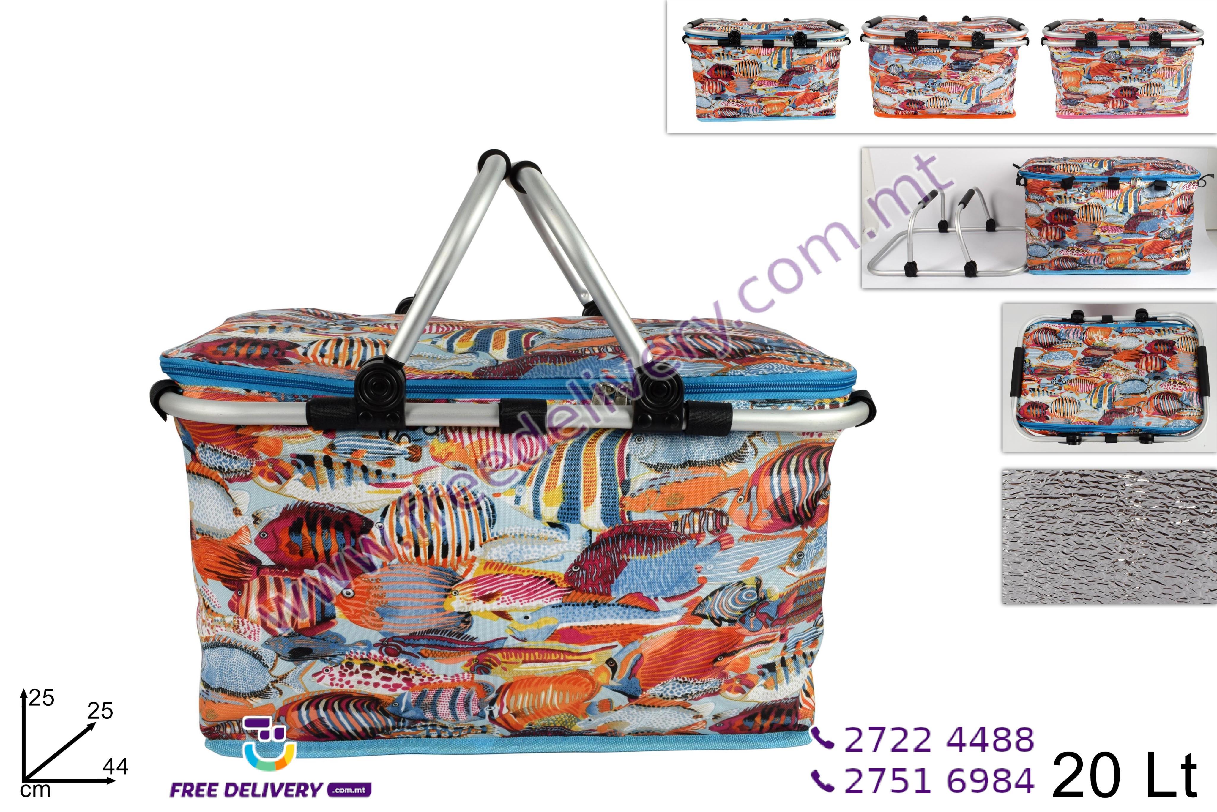 20L COOLER BASKET FISH DESIGN – DE540671