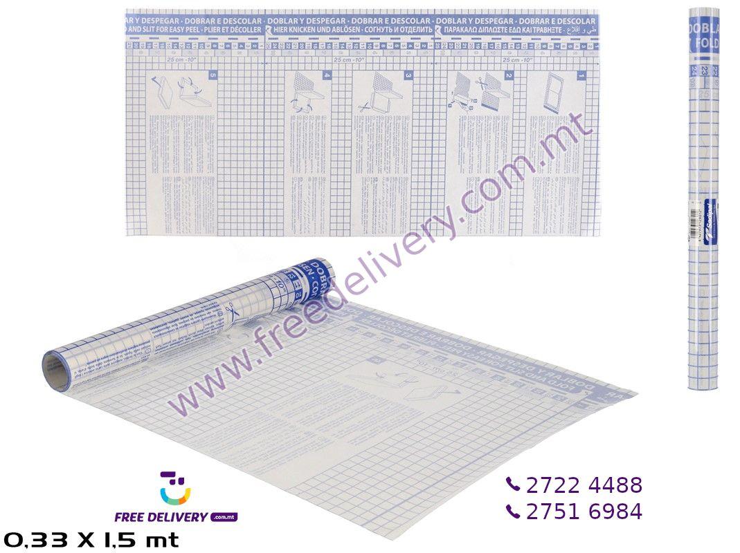 ADHESIVE BOOK LINER 1.5 X 0.33M – GE128012
