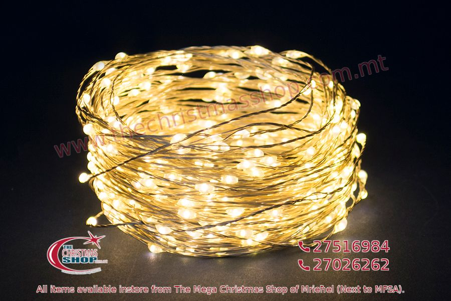 1 METERS LIGHT COPPER WIRE LED BATTERY OPERATED WARM WHITE. PAR230732