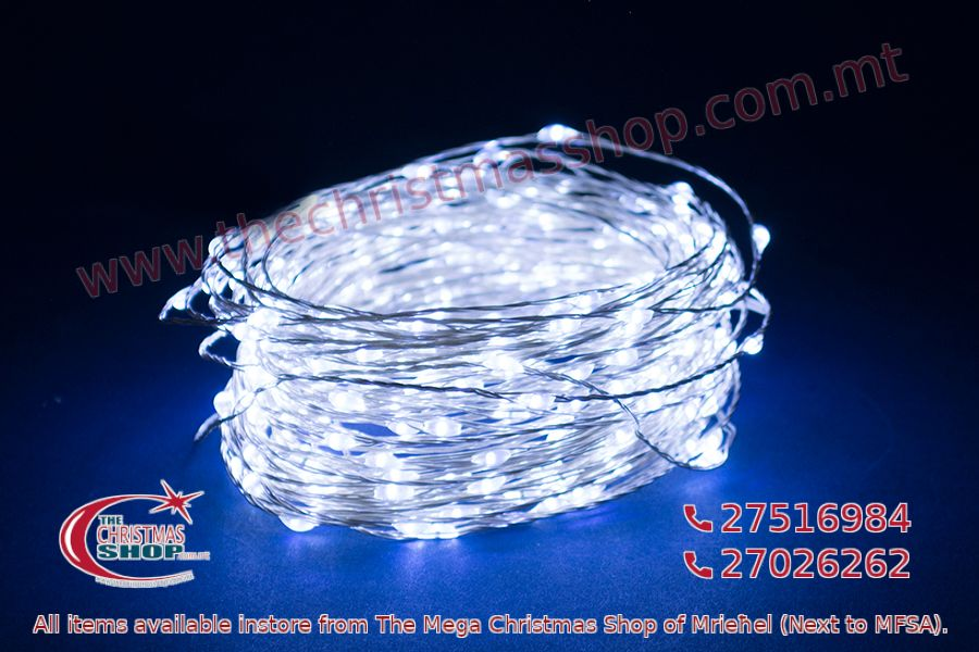 100 COOL WHITE MICRO LED. 5M INDOOR AND OUTDOOR USE. PAR562157