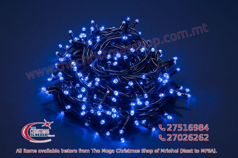 500 LED STRING OUTDOOR/INDOOR FAIRY LIGHTS BLUE. PAR567985