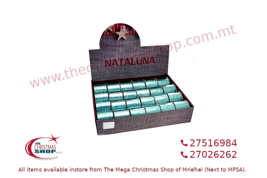 CHRISTMAS RIBBON GREEN 3CM X2M. PAR546089