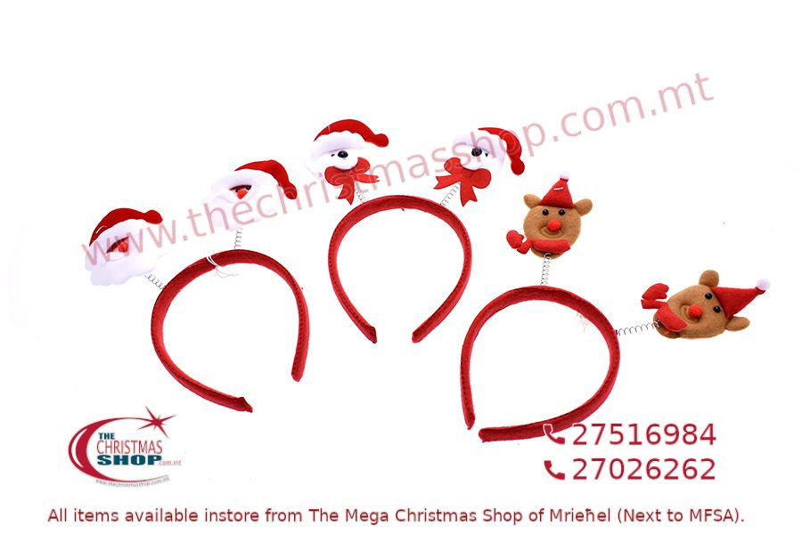CHRISTMAS HEADBAND 24 X 16CM. PAR466851