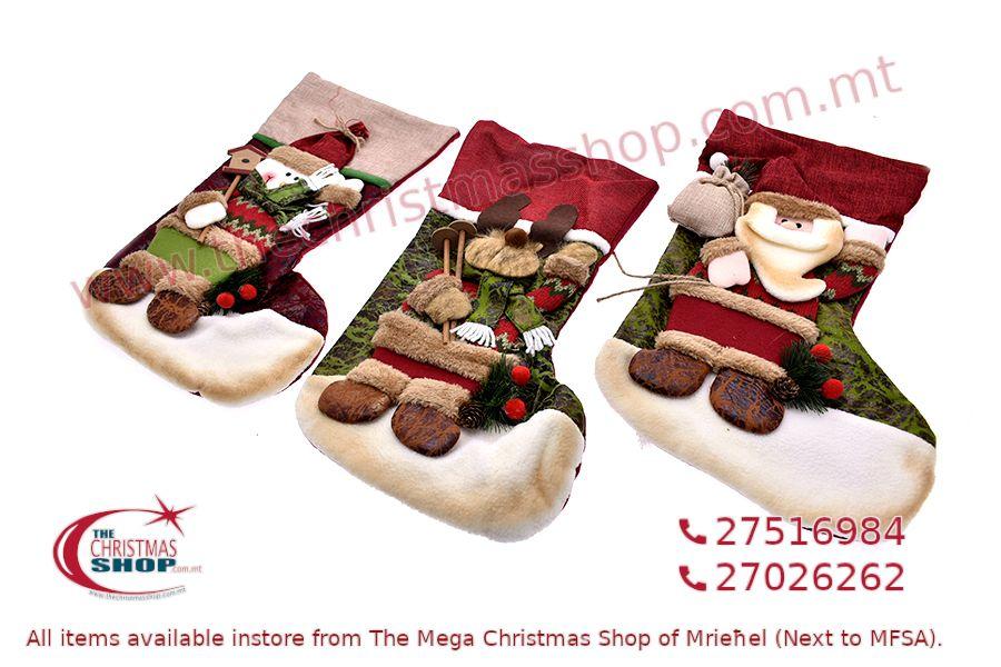 CHRISTMAS STOCKING 55CM. PAR467612