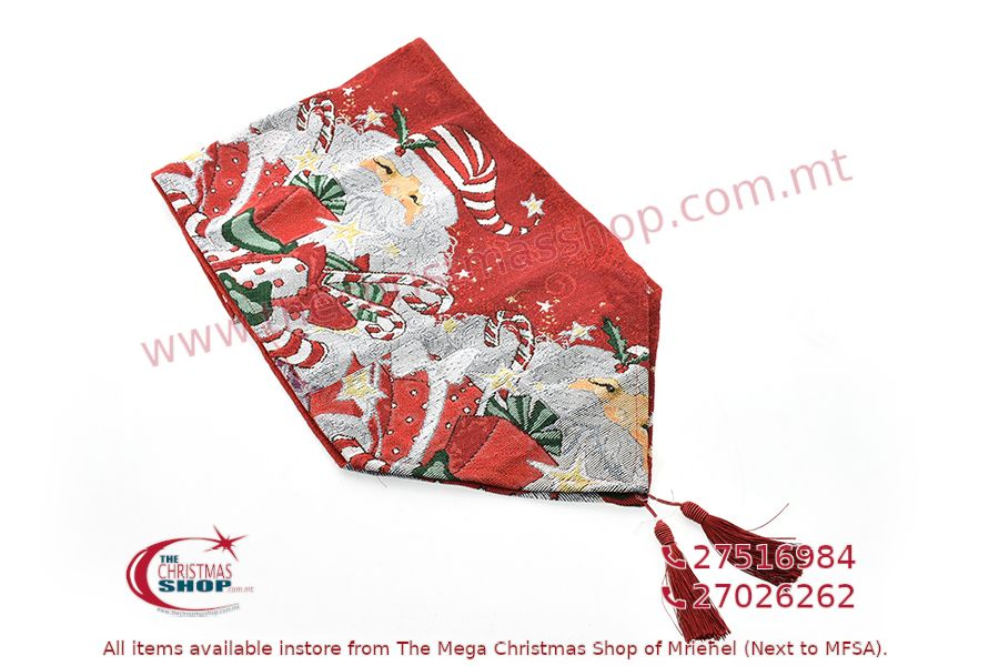 CHRISTMAS TABLE RUNNER 33 X 180CM. PAR550082