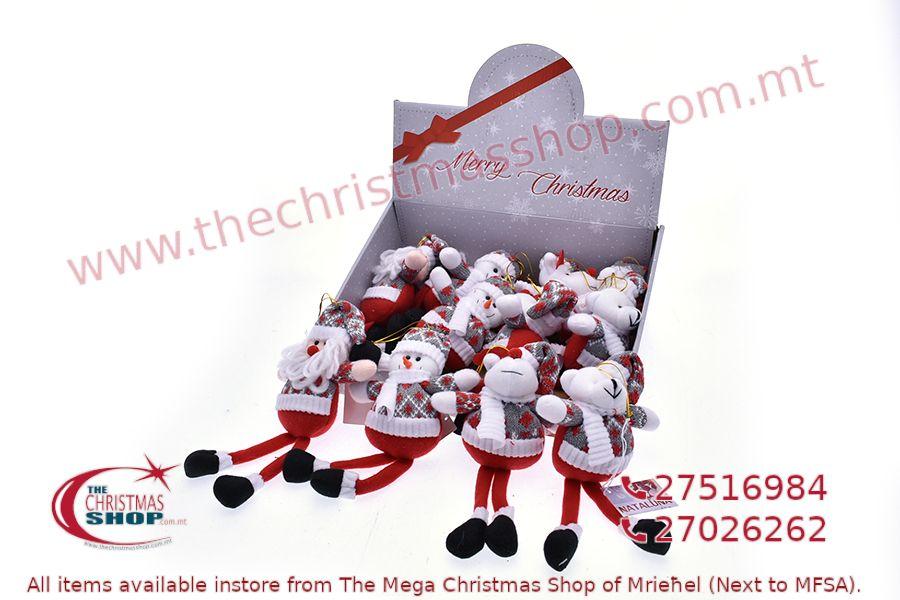 CHRISTMAS ORNAMENTS, HANGING DECOTATIONS 25CM. PAR548069