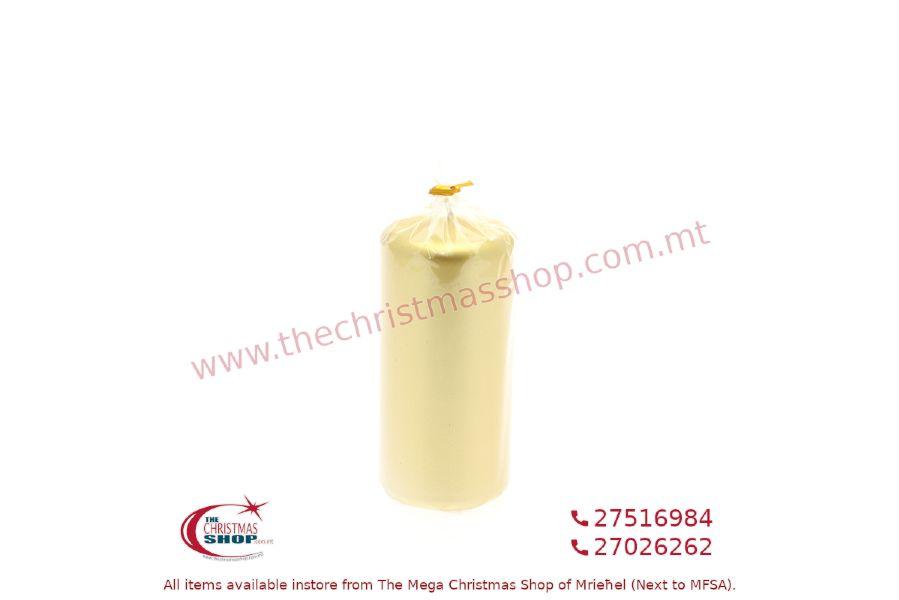 GOLD CANDLE 15X7CM. PAR812590