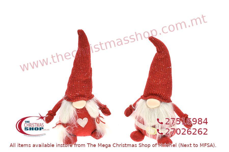 CHRISTMAS GNOMES 32CM. PAR108881