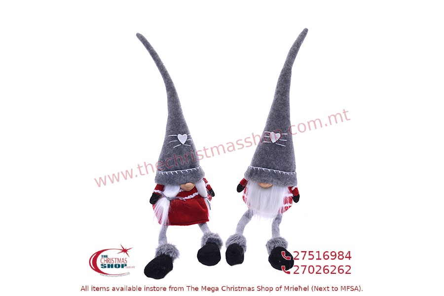 CHRISTMAS GNOMES 15x13x66CM. PAR244466