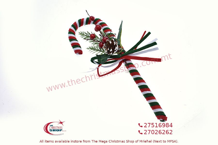CHRISTMAS DECORATIONS HANGING STICK 36CM. PAR689144