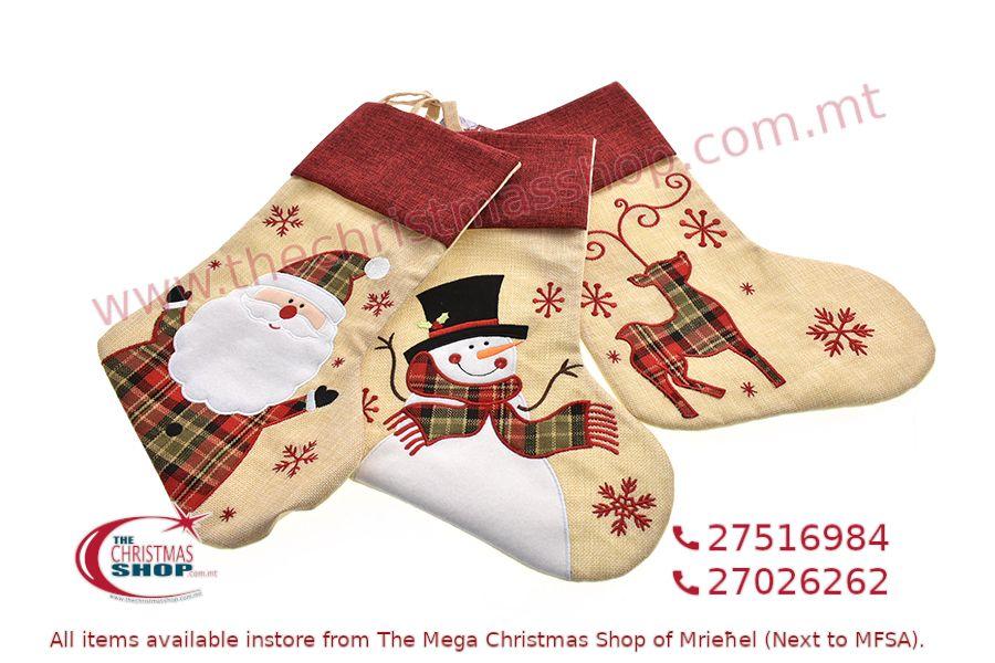 CHRISTMAS STOCKING 46CM. PAR551676